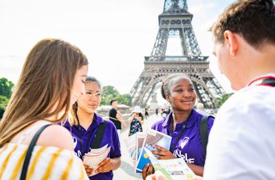 Accueillir les touristes à Paris Île-de-France