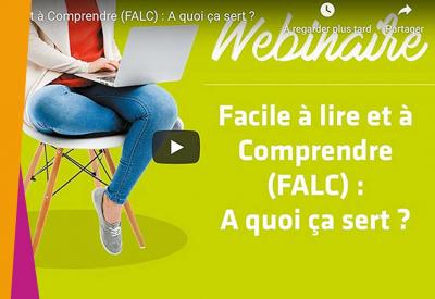 Facile à lire et à Comprendre (FALC) : A quoi ça sert ? - 2019
