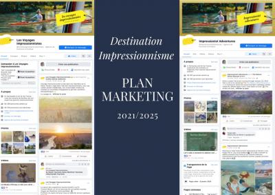 Stratégie marketing 2021/2025 de la Destination Impressionnisme