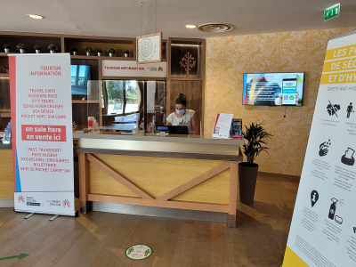 The Paris Region Tourist Board is opening its 13th Tourism Information Point of the Regional Tourism Reception Centres at Villages Nature® Paris this summer