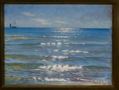 The blue hour of Peder Severin Krøyer
