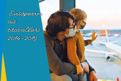 European air travellers in Paris Region