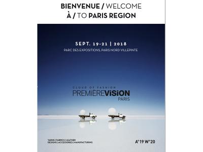 Salon Première Vision Paris Septembre 2018