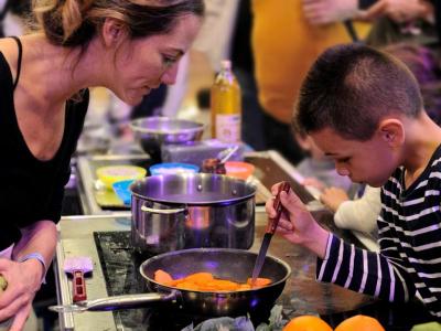 Atelier cuisine au Labo Culinaire