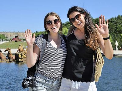 Les touristes de Normandie à Paris Île-de-France
