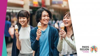 Les Japonais à Paris Île-de-France