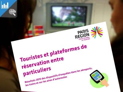 Touristes et plateformes de réservation entre particuliers