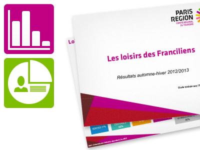 Etude sur les loisirs des Franciliens, vague 2 (février 2014)