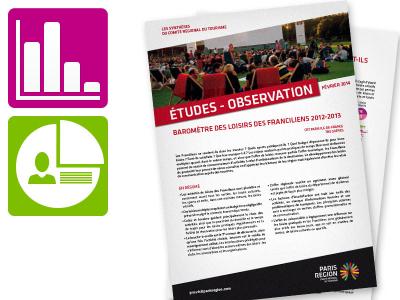 Synthèse de l'étude consacrée aux loisirs des Franciliens 2012-2013 (février 2014)