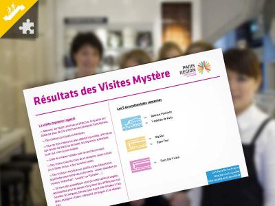 Visites mystère - Résultats de l'année 2017