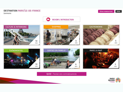 Destination Paris Ile-de-France