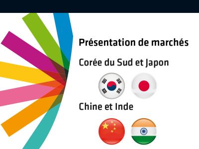 Présentation de marchés (Chine, Inde, Corée du Sud, Japon et Moyen-Orient) 2020 - REPORT