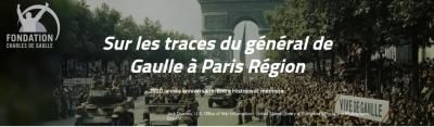 Sur les traces du général de Gaulle à Paris Région