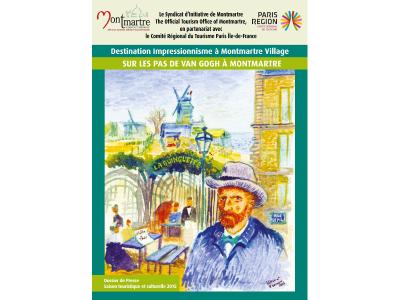 Vincent van Gogh et Montmartre avec le Comité Régional du Tourisme Paris Ile-de-France