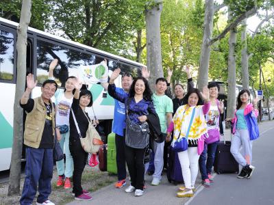Signature d'un partenariat entre le CRT et Fliggy, filiale d'Alibaba, lors du déplacement de Valérie Pécresse en Chine pour faire la promotion de Paris Region