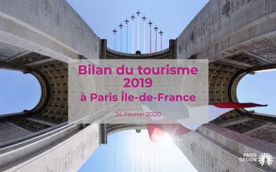 UN NOUVEAU RECORD DE FRÉQUENTATION EN 2019 POUR LE TOURISME À PARIS ÎLE-DE-FRANCE