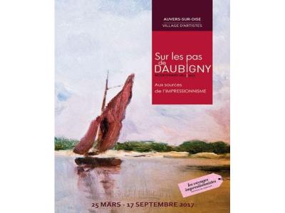 """En 2017,  Auvers-sur-Oise marche """"Sur les pas de Daubigny, aux sources de l'Impressionnisme"""""""