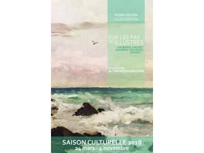 """En 2018, Auvers-sur-Oise marche """"Sur les pas des Illustres Daubigny, Gachet, Daumier, Van Gogh, Boggio..."""""""
