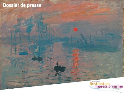 "Dossier de presse ""Destination Impressionnisme"" 2015"