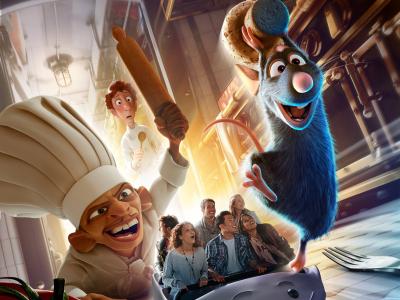 Le CRT et Disneyland Paris s'associent pour le lancement de la nouvelle attraction Ratatouille : l'Aventure Totalement Toquée de Rémy