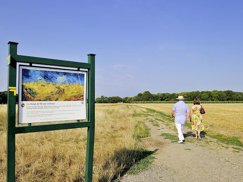 Balade sur les pas de Van Gogh à Auvers