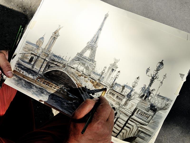 Découvrir Paris comme un peintre