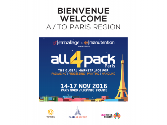 Salon ALL4PACK – Novembre 2016