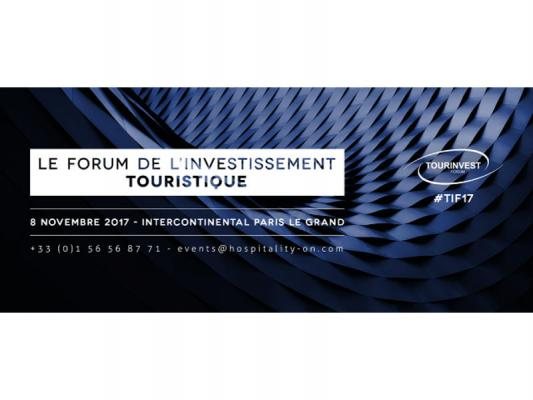 TourInvest Forum du 8 novembre 2017 à  l'hôtel InterContinental Paris - Le Grand, 2 rue Scribe 75009 PARIS