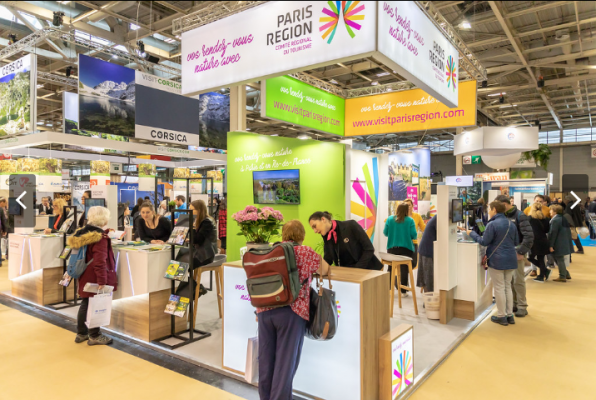 Destinations Nature 2019 - stand CRT Paris Region