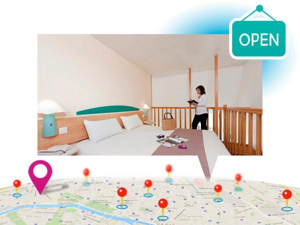 centre international de s jour de paris maurice ravel. Black Bedroom Furniture Sets. Home Design Ideas