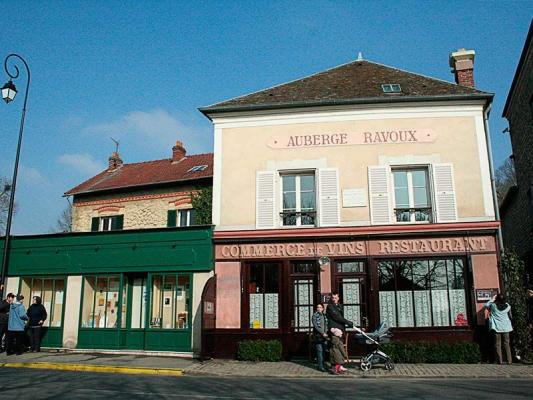 The auberge ravoux known as the house of van gogh for Auberge ravoux maison van gogh