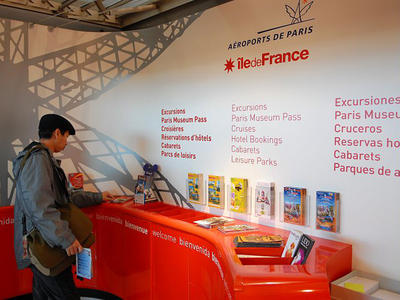 Point information Tourisme, Roissy T2 C