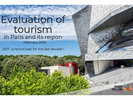 Evaluation of Tourism in Paris and its region 2017