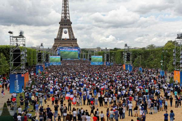 Fan Zone _Faire face aux actions violentes et au rique terroriste