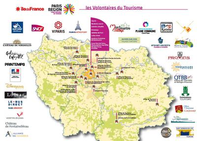 Carte Dispositif Volontaires du tourisme