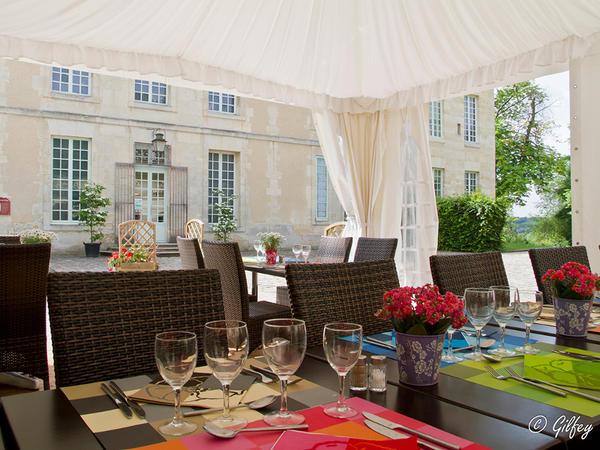 limpressionnistcaf restaurant du chteau dauvers gilles fey - Chateau D Auvers Mariage