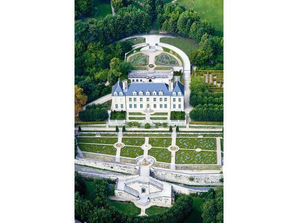 le chteau dauvers vue du ciel gilles fey - Chateau D Auvers Mariage